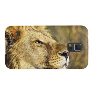 Lion Wild Animal Wildlife Safari Galaxy S5 Cover