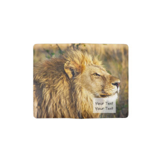 Lion Wild Animal Wildlife Safari Pocket Moleskine Notebook