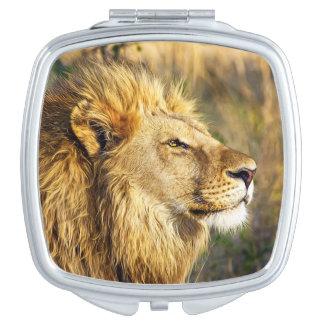 Lion Wild Animal Wildlife Safari Vanity Mirror