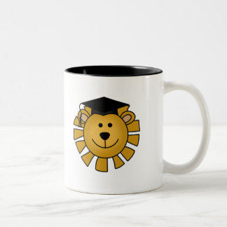Lion with Graduation Cap Tshirts and Gifts Mugs