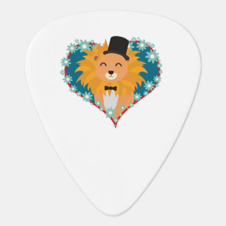 Lion with hat in flower heart Zdjpd Pick