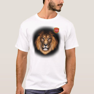 Lion with Springbok in Eyes T-Shirt