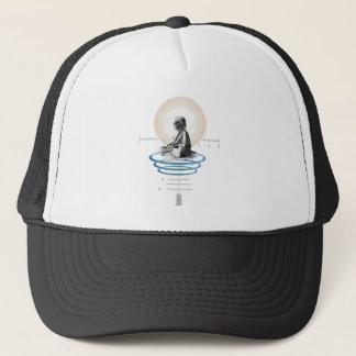 Lion yoga trucker hat