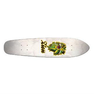 LION ZION CUSTOM SKATE BOARD