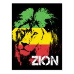 Lion Zion Postcard