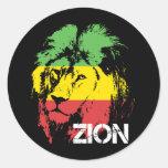 Lion Zion Stickers