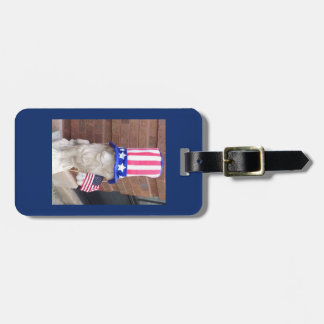 Lionel the 'Merican Luggage Tag