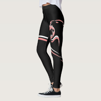 Lioness Abstract Leggings