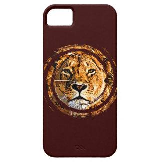 LIONESS FACE iPhone 5 Case-Mate Case