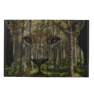 Lioness forest merge Ipad case