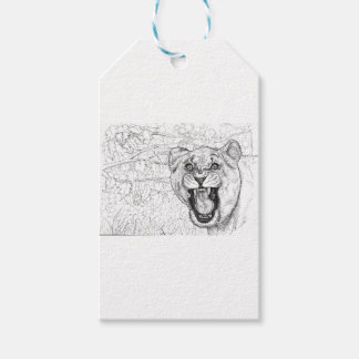 Lioness Gift Tags