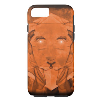 Lioness Gold Soft iPhone 7 Case