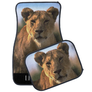 Lioness Lovers Car Mat