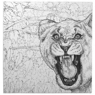 Lioness Napkin