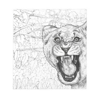Lioness Notepad