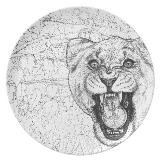 Lioness Plate