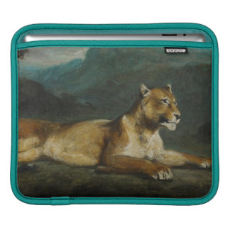 Lioness reclining, c.1855 (oil on panel) sleeves for iPads