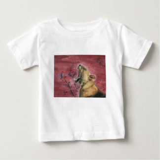 Lioness Yawn Baby T-Shirt