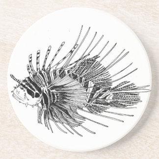 Lionfish coaster