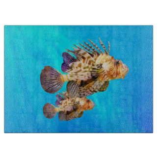 Lionfish Cutting Board