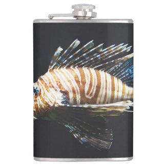 Lionfish Hip Flask