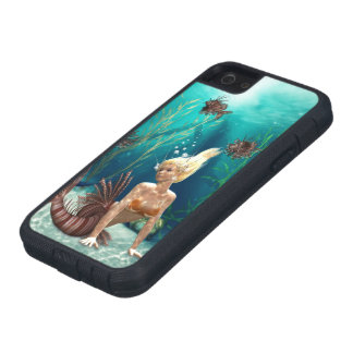 Lionfish Mermaid Tough Xtreme iPhone SE Case