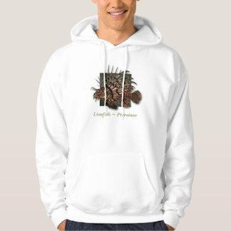 Lionfish reef fish hoodie