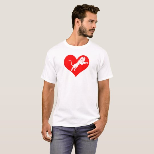 Lionheart:  Unafraid to express love T-Shirt