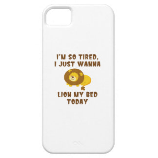 LionMyBed1A Case For The iPhone 5