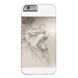 LionRoaringCellphoneCase Barely There iPhone 6 Case