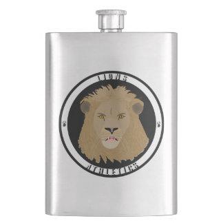 Lions Athletics Emblem Hip Flask