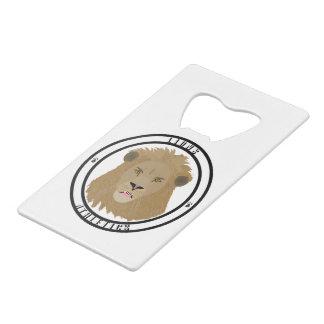 Lions Athletics Emblem Wallet Bottle Opener