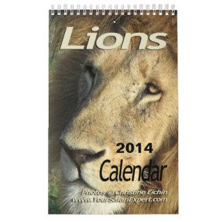 Lions Calendar 2014 (Single-Page)