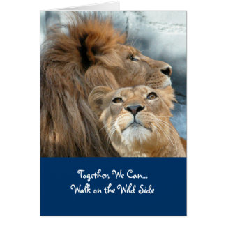 Lions Card