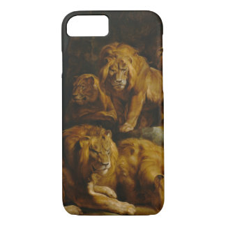 Lions' Den Art phone cases