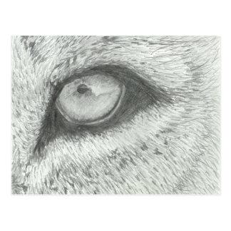Lion's Eye | Customizable Postcard