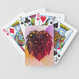 Lion's Head Bicycle Playing Cards