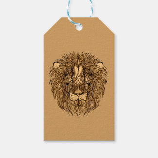 Lion's Head Gift Tags