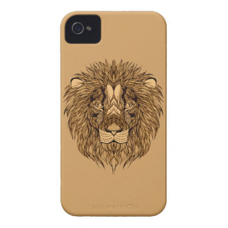 Lion's Head iPhone 4 Cases