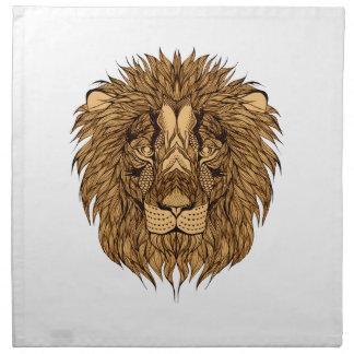 Lion's Head Napkin