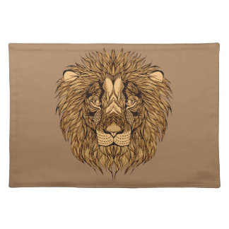 Lion's Head Placemat
