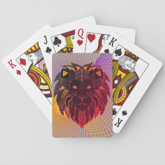 Lion's Head Poker Deck