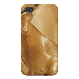 Lion's head rhyton iPhone 4 case