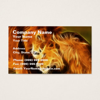 Lions in Love Business Card
