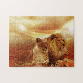 Lions Jigsaw Puzzle