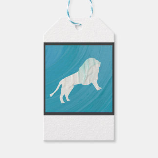 Lion's Majesty 1 [Framed] Gift Tags