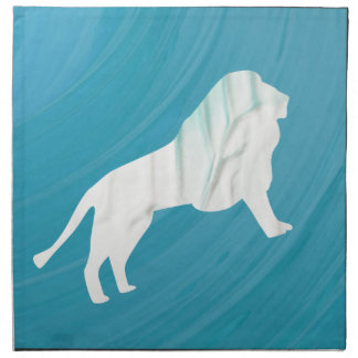 Lion's Majesty 1 [Framed\ Napkin