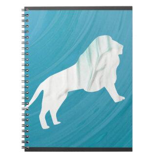 Lion's Majesty 1 [Framed\ Spiral Notebook