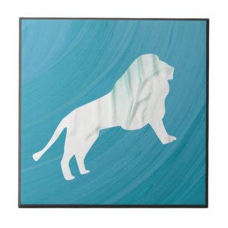 Lion's Majesty 1 [Framed] Tile