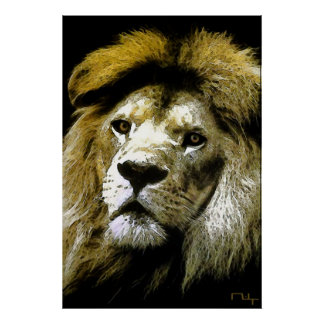 Lions only kill when they are hungry .... poster